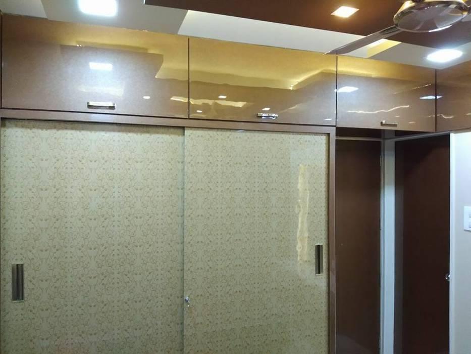 Walldrop Master Bedroom Kumar Interior Thane Modern Style Bedroom Amber Gold Homify