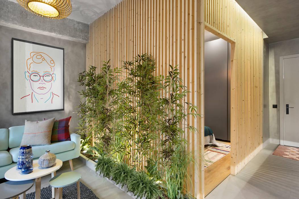 Salas / recibidores de estilo  por Egue y Seta, Escandinavo