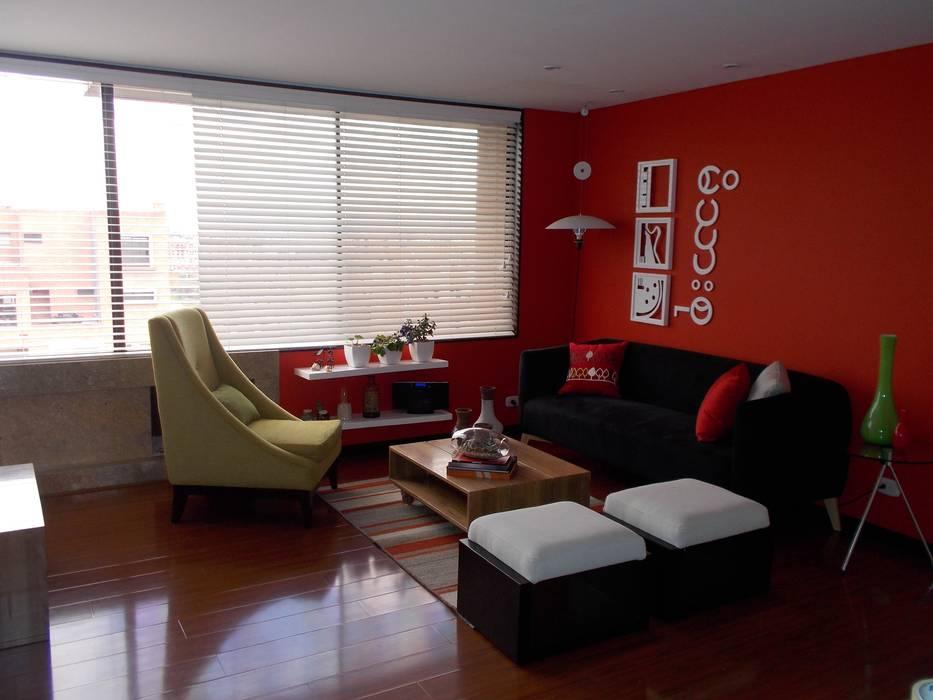 decoración sala comedor: Comedores de estilo moderno por Omar Interior Designer  Empresa de  Diseño Interior, remodelacion, Cocinas integrales, Decoración