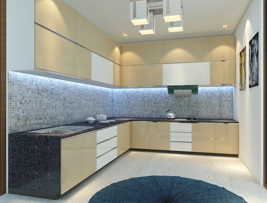 Modular Kitchen - Baner Modern kitchen by DECOR DREAMS Modern