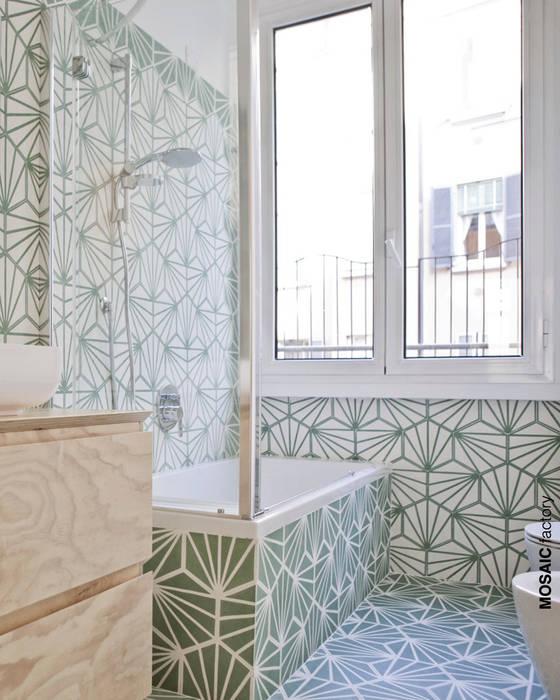 Wohnung renovierung, italien: badezimmer von mosaic del sur | homify