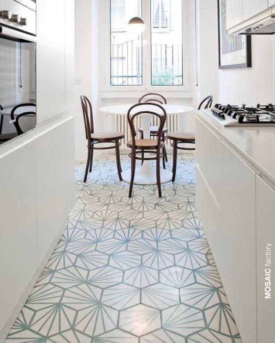 Wohnung renovierung, italien: küche von mosaic del sur | homify
