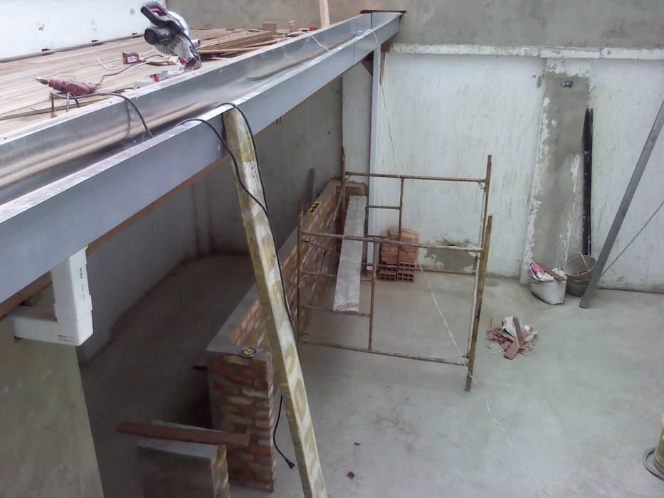 Remodelación de Omar Interior Designer Empresa de Diseño Interior, remodelacion, Cocinas integrales, Decoración Rústico Ladrillos