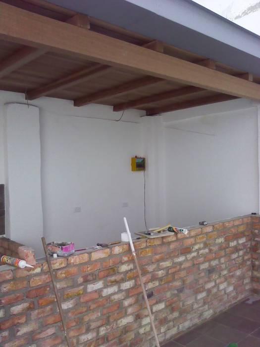 Remodelacion.: Espacios comerciales de estilo  por Omar Interior Designer  Empresa de  Diseño Interior, remodelacion, Cocinas integrales, Decoración,