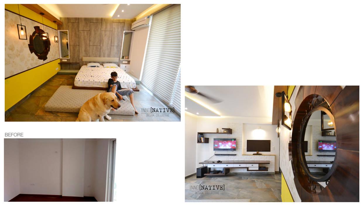 Dormitorios de estilo moderno de Inno[NATIVE] Design Collective Moderno