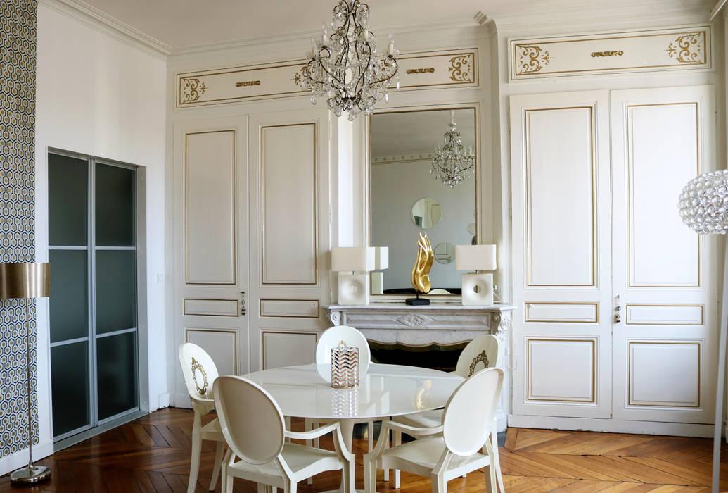 Amenagement et décoration design contemporrain dans appartement ...