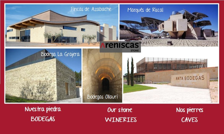 Wine cellar by ARENISCAS STONE,