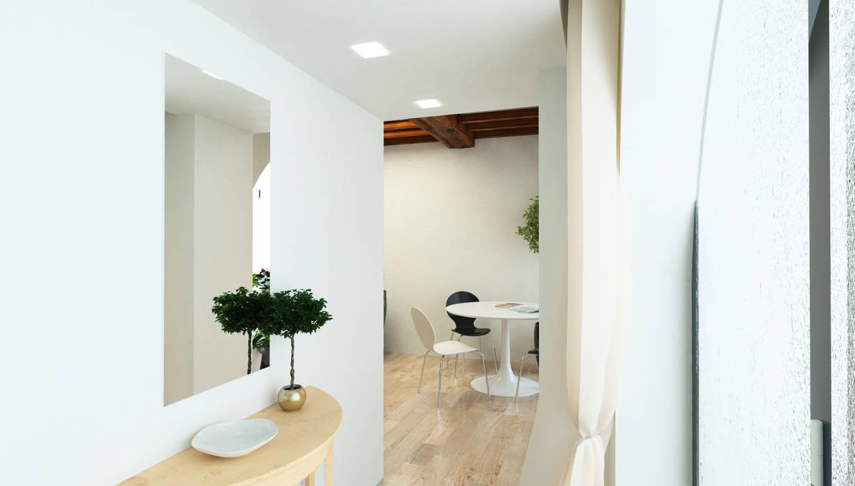 Ingresso - Casa in Via San Martino - Pisa: Ingresso & Corridoio in stile  di Studio Bennardi - Architettura & Design