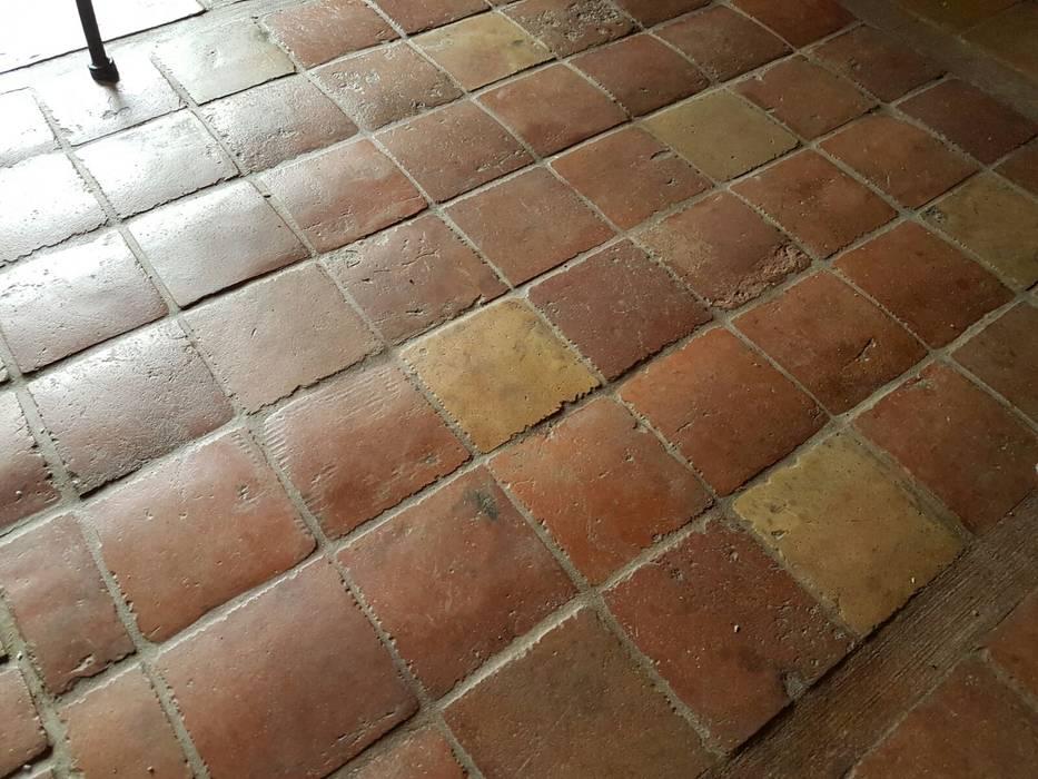 Suelos de barro antiguos Anticuable.com Suelos Ladrillos Rojo