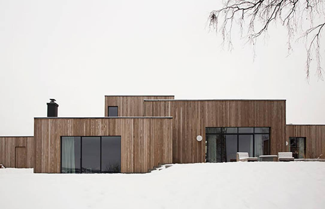 กระท่อมไม้ โดย Design for Love, สแกนดิเนเวียน ไม้ Wood effect