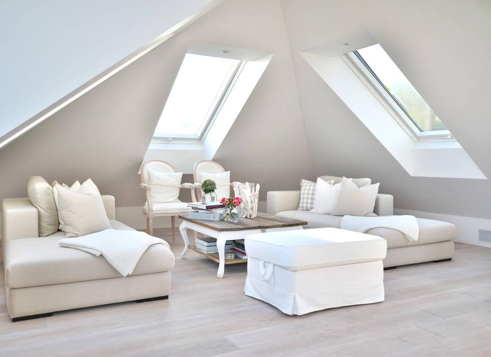 Wohnzimmer Unter Der Dachschrage Wohnzimmer Von Select Living