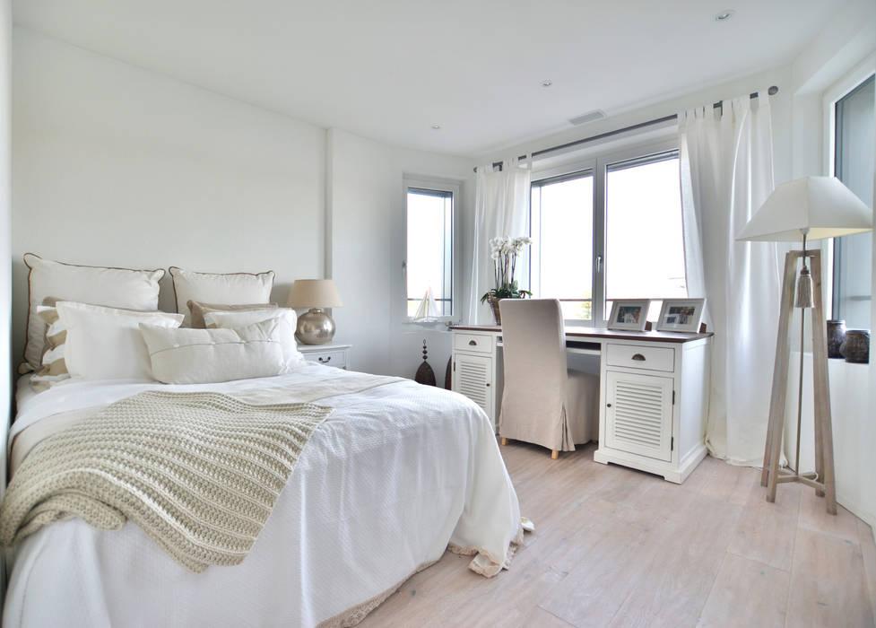 Schlafzimmer in beige und weiss von select living interiors ...