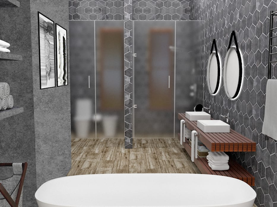 Bathroom by JACH,