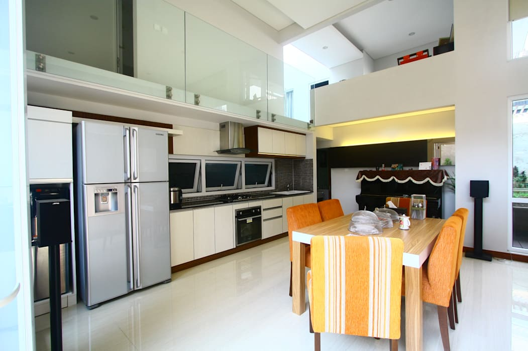 Ruang Makan Ruang Makan Modern Oleh Exxo interior Modern