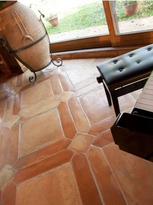 Handcrafted terracotta: product of passion Mediterrane evenementenlocaties van Terrecotte Europe Mediterraan Tegels