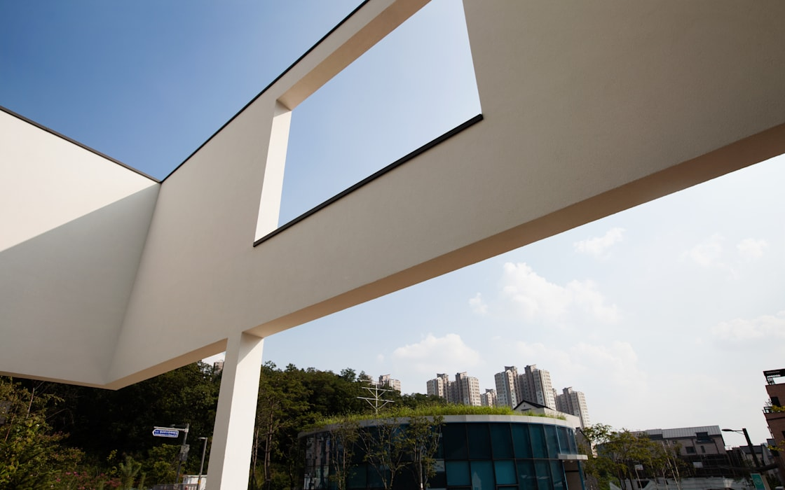HOUSE DAM 디자인그룹 콜라보 Moderne Häuser