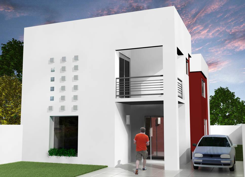 Grupo DH arquitetura 排屋 White