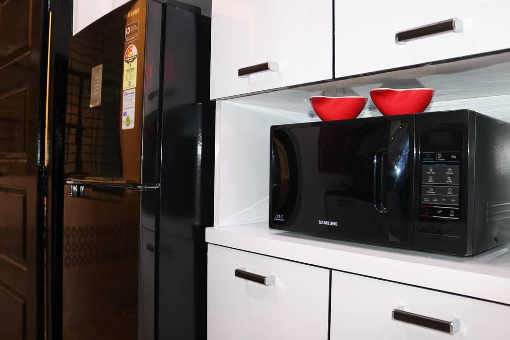 Cocinas equipadas de estilo  por Enrich Interiors & Decors, Asiático