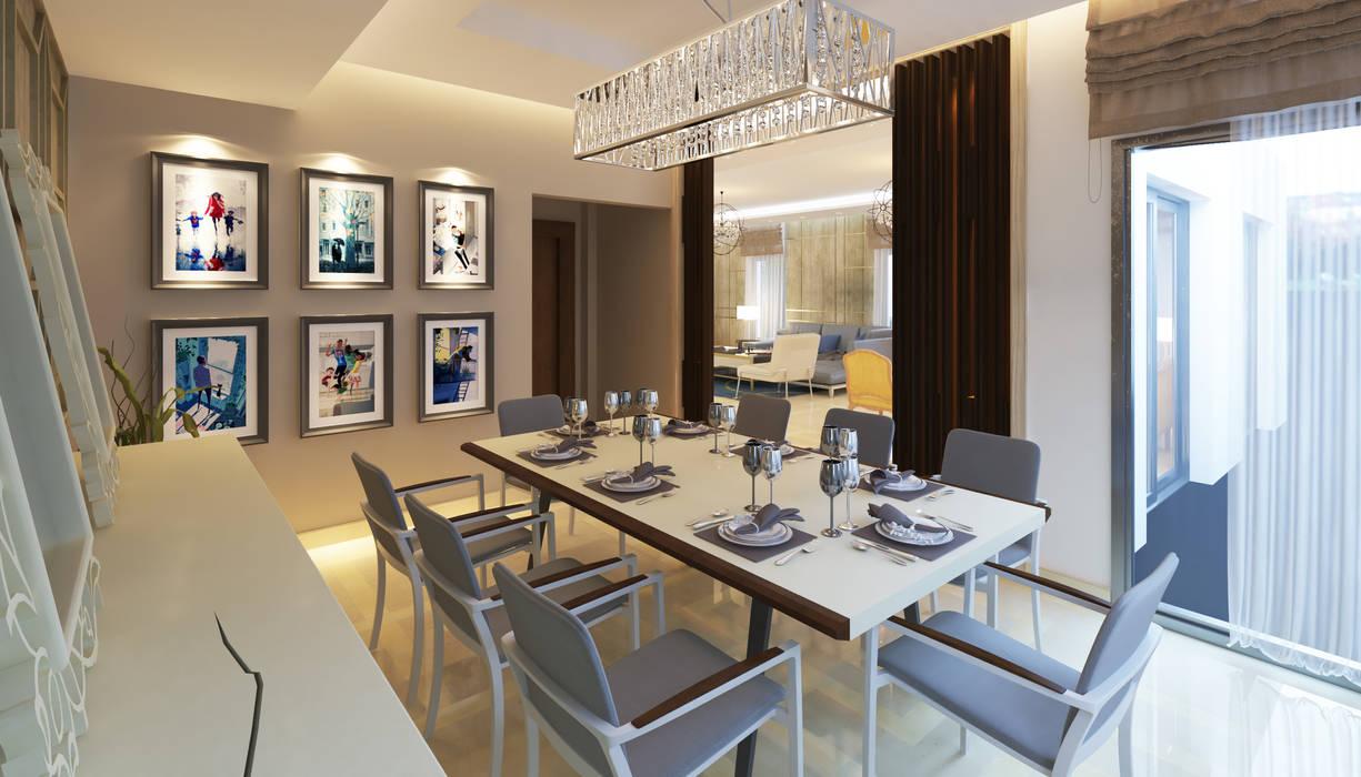 Dining room by SIGMA Designs, Modern