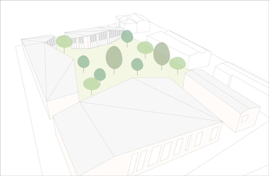 atelier architettura Modern garden