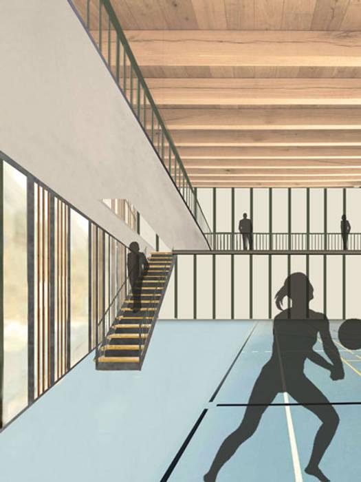 Modern gym by atelier architettura Modern