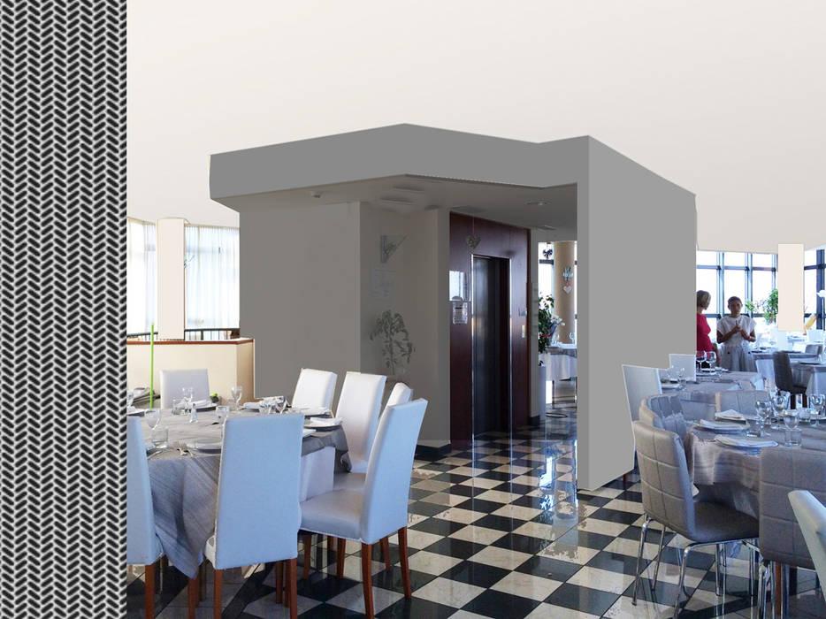 Airport Hotel: Hotel in stile  di atelier architettura
