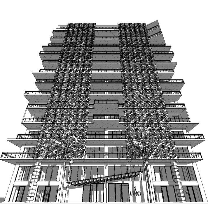 by SG Huerta Arquitecto Cancun Modern Concrete