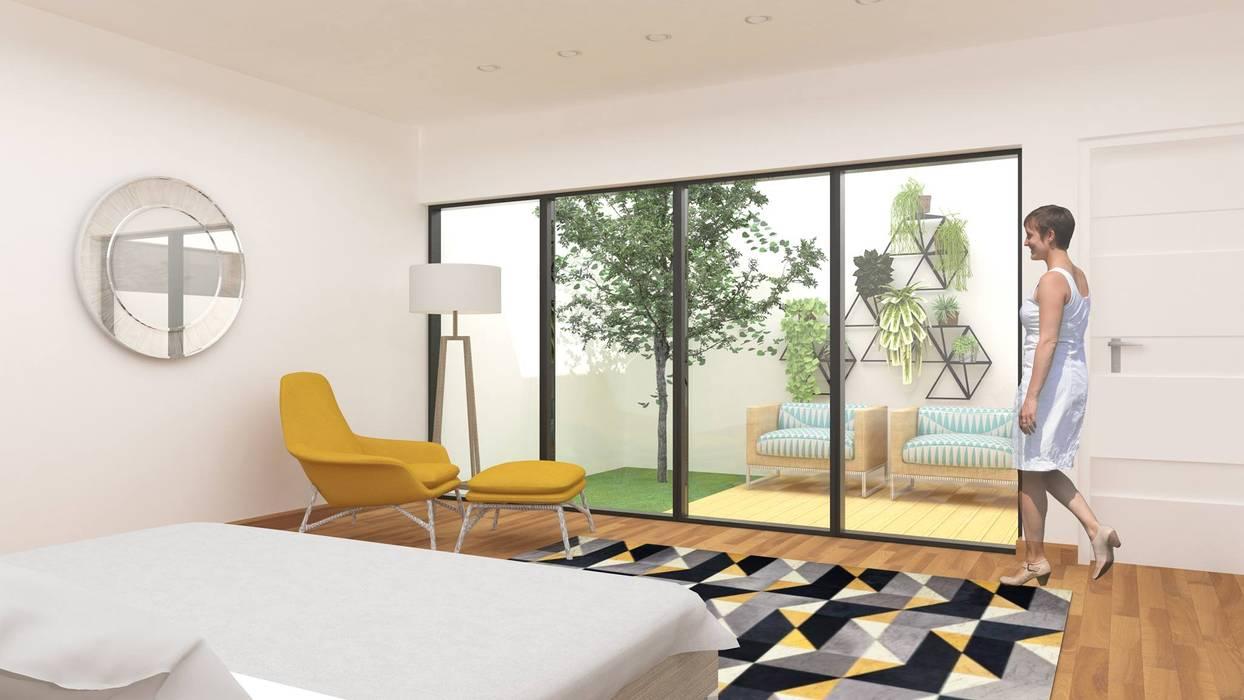 CASA M Casas modernas: Ideas, imágenes y decoración de DDBB Arquitectos Moderno