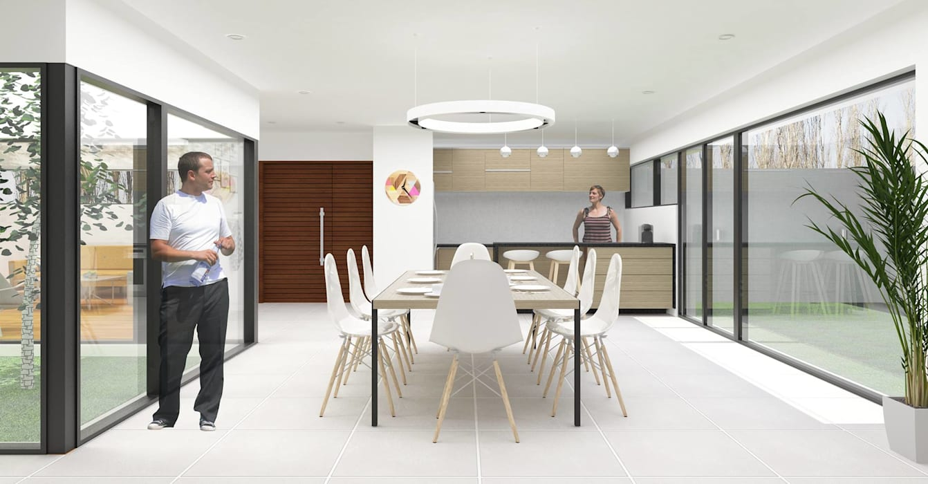 Rumah Modern Oleh DDBB Arquitectos Modern