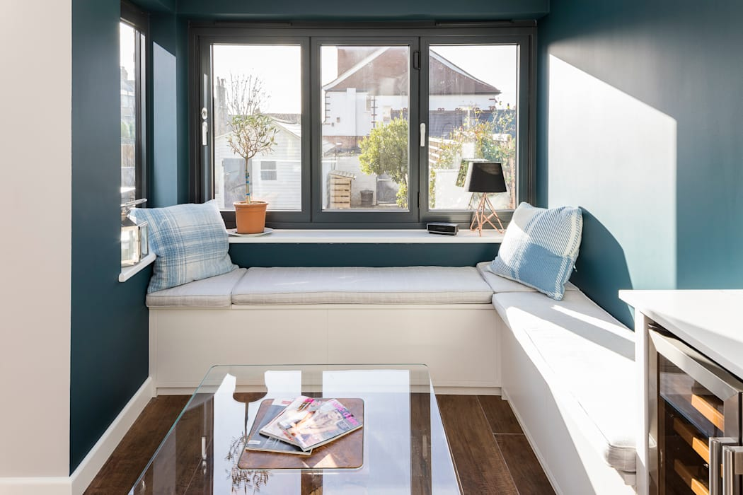 Tooting Whole House Renovation:  Living room by Model Projects Ltd