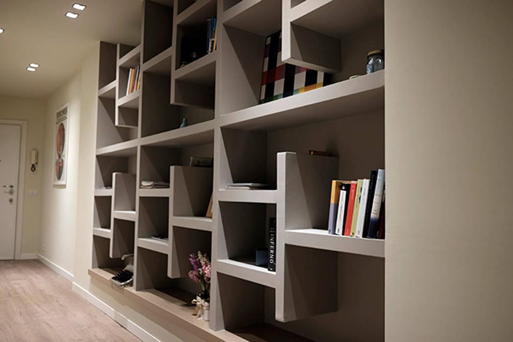 Librerie Moderne In Cartongesso.Libreria Cartongesso Di Studionove Architettura Moderno Compensato