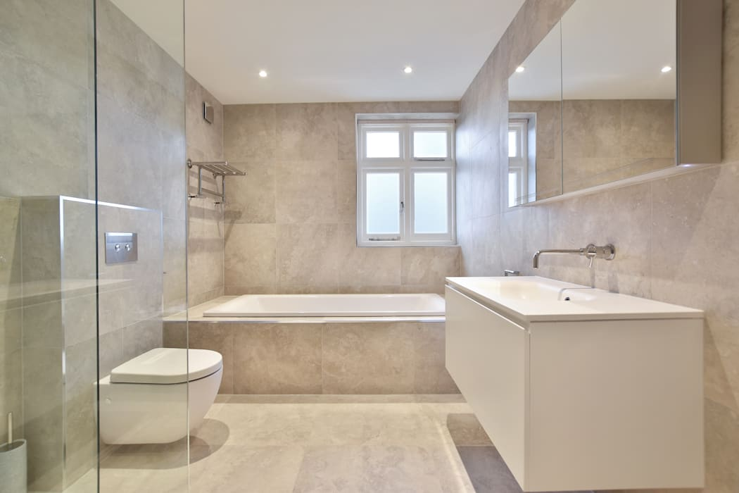Case study surrey bathroom by bathroomsbydesign retail for Homify case