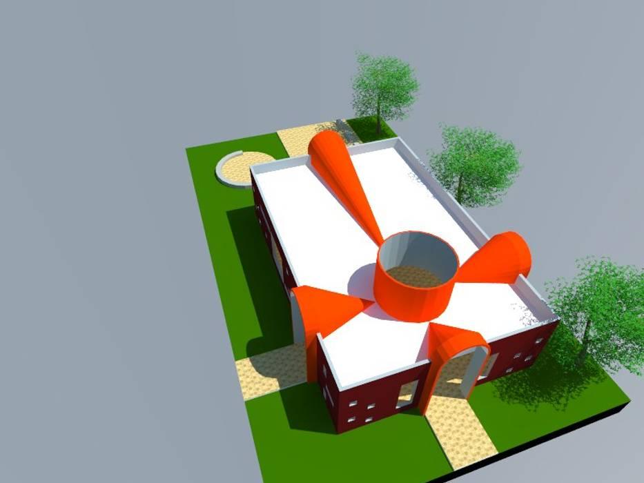 2: Salas multimedias de estilo  por OMD Arquitectos
