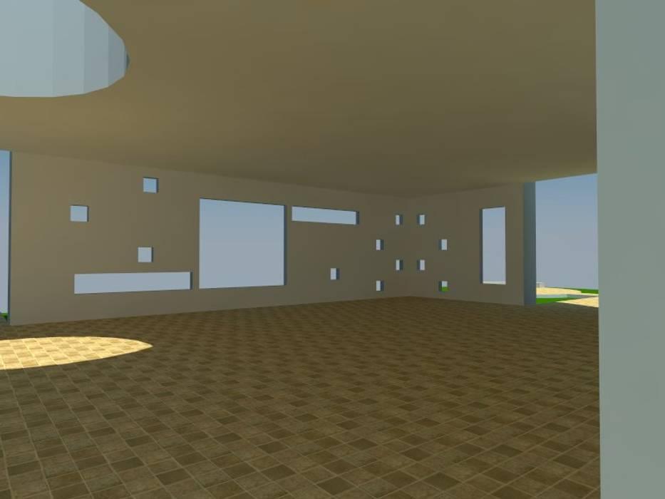 3: Salas multimedias de estilo  por OMD Arquitectos