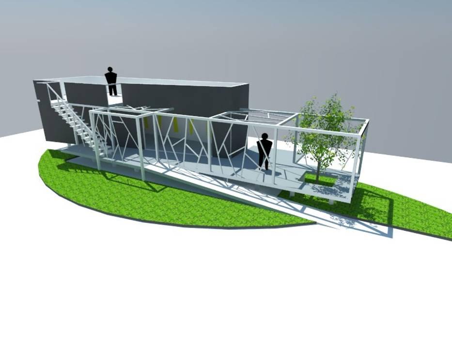 2: Escaleras de estilo  por OMD Arquitectos