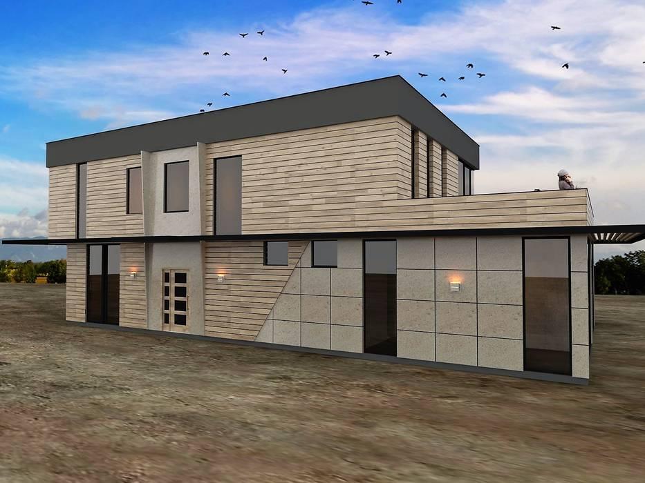 Modern Villa Murat Aksel Architecture Modern Ahşap Ahşap rengi