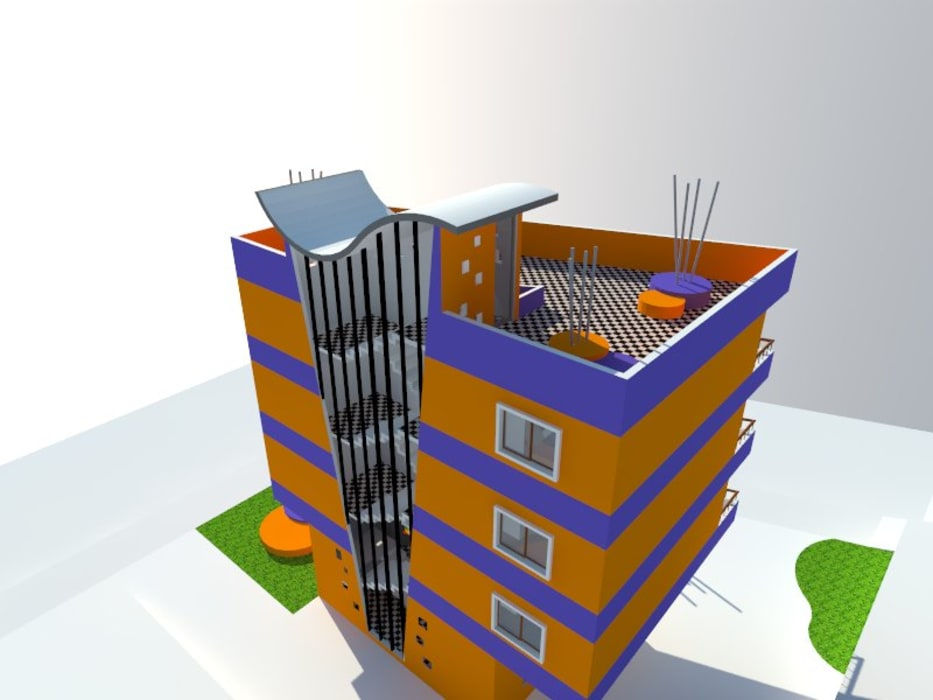 2: Viviendas colectivas de estilo  por OMD Arquitectos