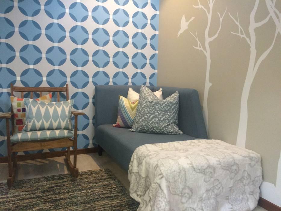 Chambre de style  par Ground Floor Interiors | Cape Town,