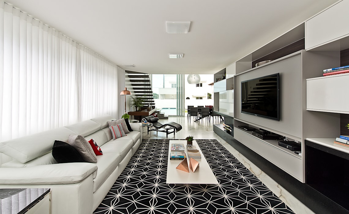 Salas de estilo minimalista de Espaço do Traço arquitetura Minimalista