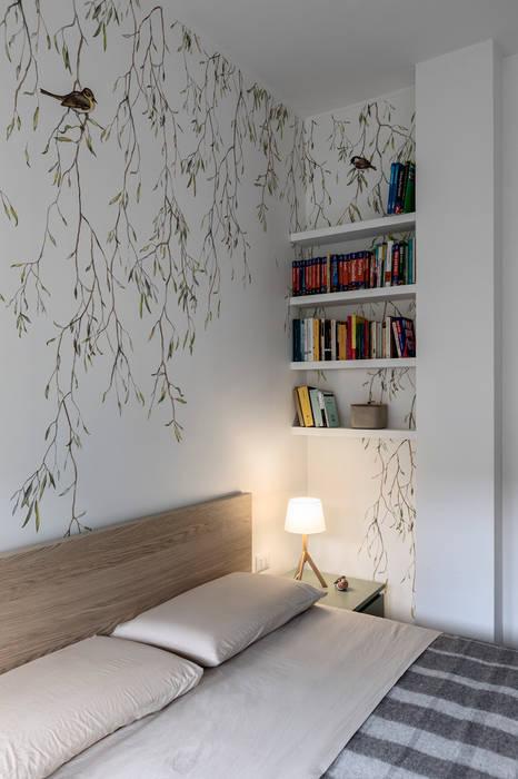 Bilocale per single: camera da letto in stile di euga design ...