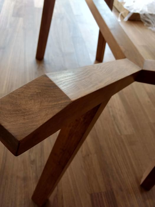 Base para mesa de madera sólida: comedor de estilo por estilo en ...