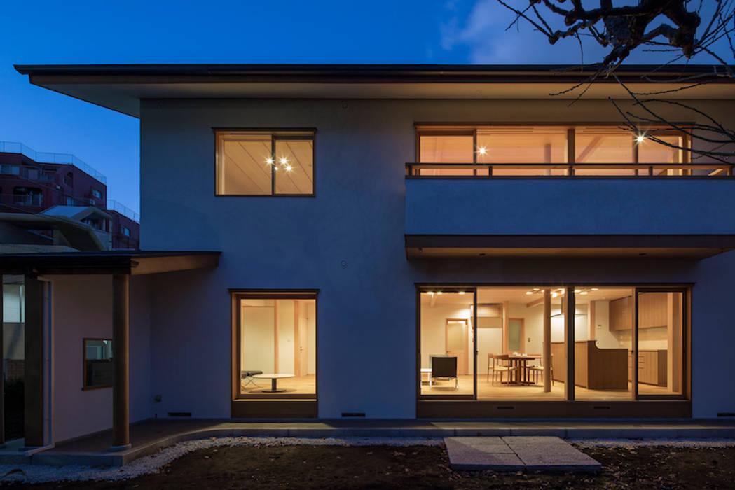 都心の二世帯住宅: 松井建築研究所が手掛けた二世帯住宅です。,オリジナル