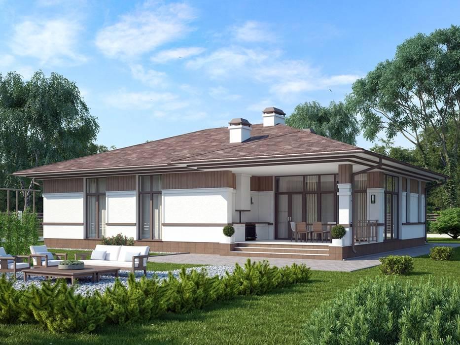 Монреаль_175м2: Дома в . Автор – Vesco Construction