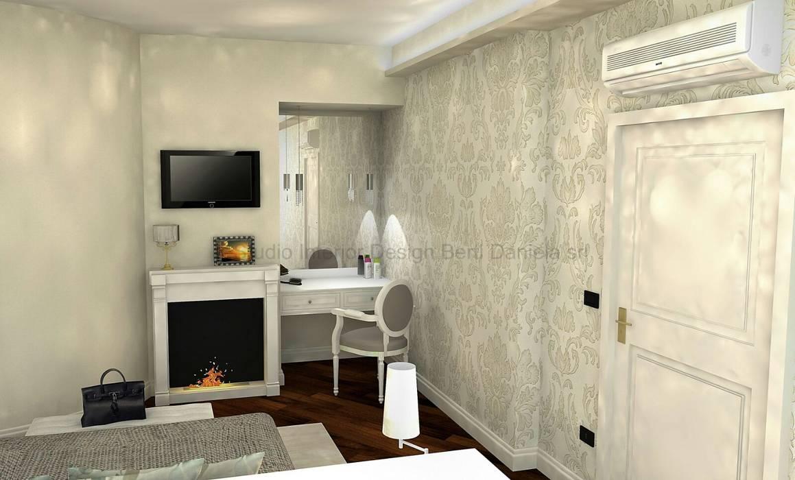 Progettazione soggiorni, biocamini e cartongesso: soggiorno in stile di studio interior design ...