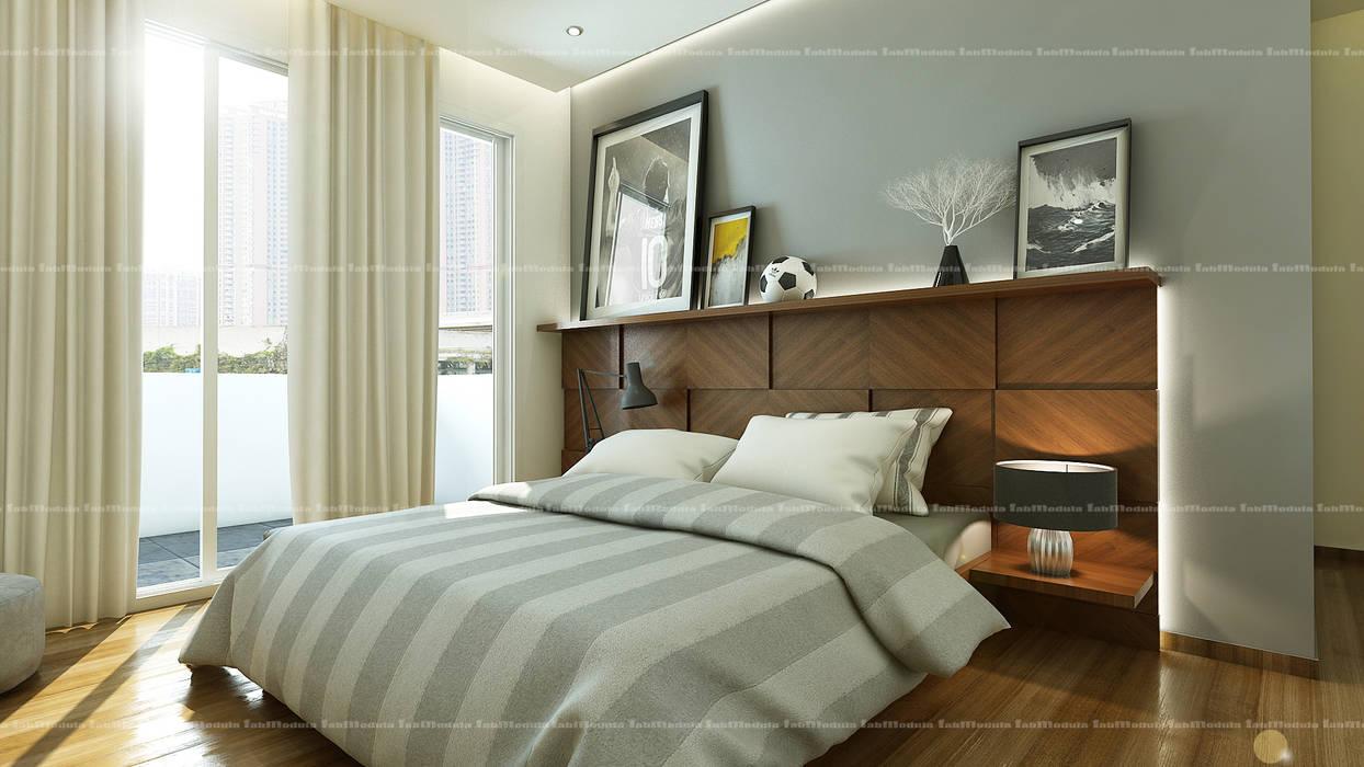 Bedroom designs:  Bedroom by Fabmodula