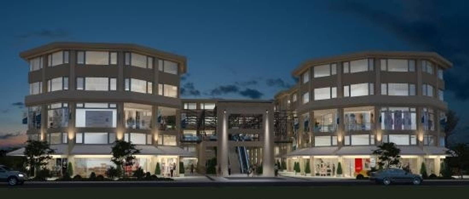 Paseo El Ágora: Edificios de Oficinas de estilo  por Estudio Schulz