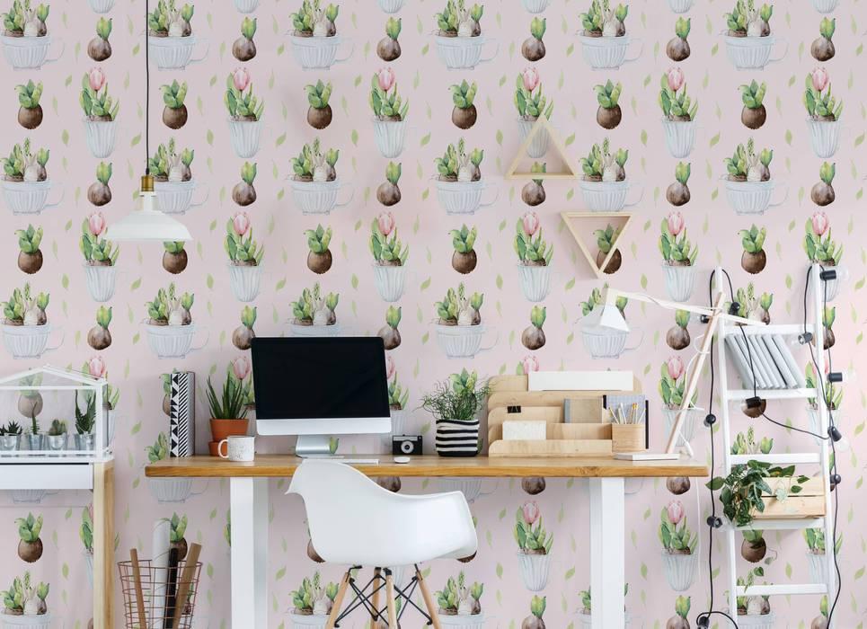EASTER PLANTS Skandinavische Arbeitszimmer von Pixers Skandinavisch