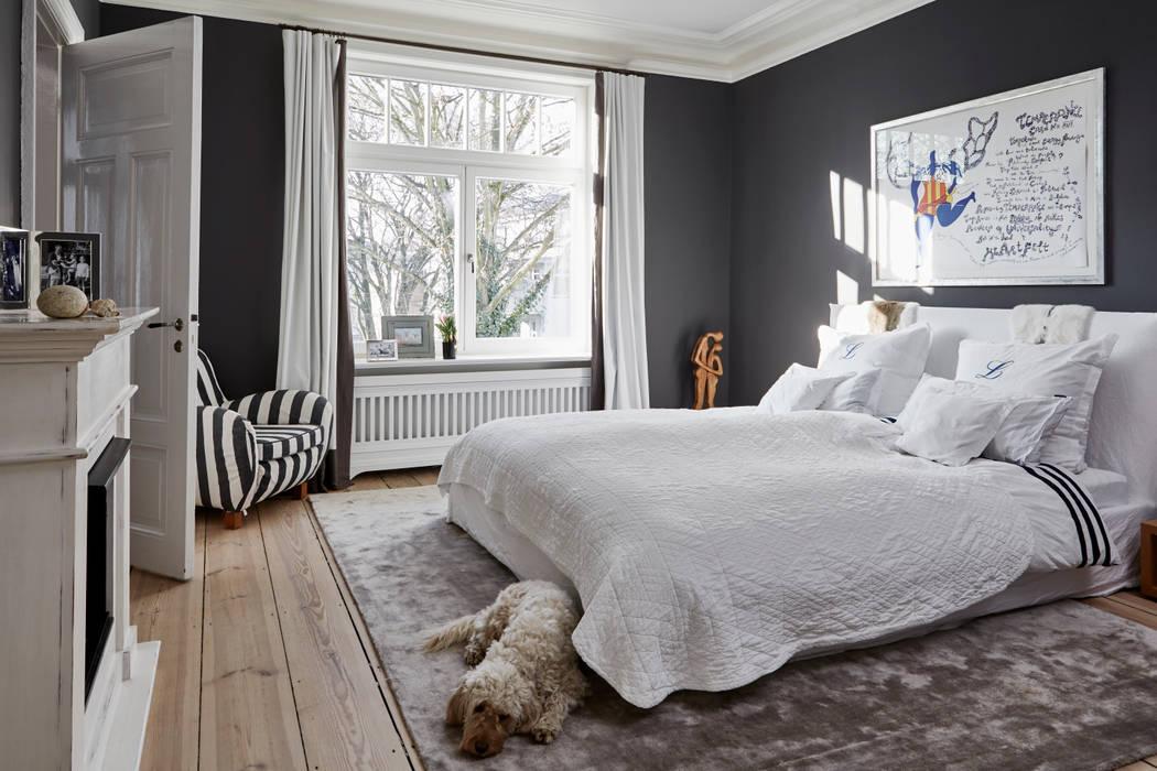 Dormitorios de estilo  por Anja Lehne interior design,