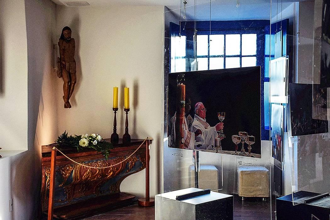 Sala de Exposição – Convento da Penha – Vila Velha/ES Centros de exposições coloniais por Koletivo Arquitetura Colonial