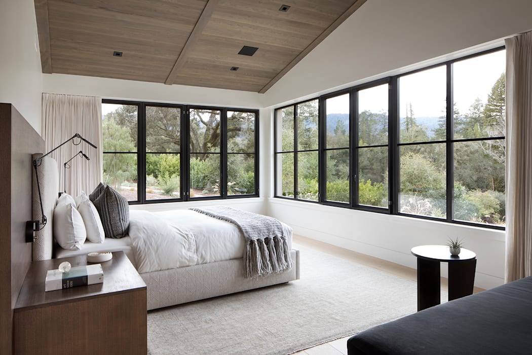 Woodpecker Ranch:  Bedroom by Feldman Architecture, Modern